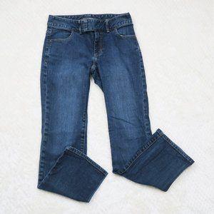 Banana Republic Straight Medium Wash Jeans 2 SHORT